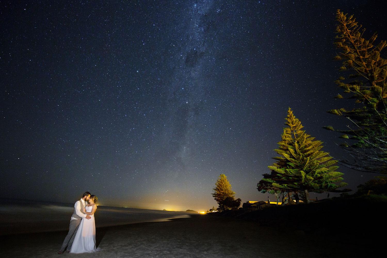 waihi beach wedding photo