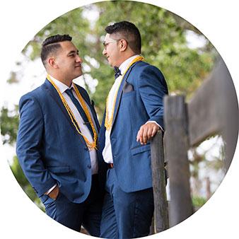gracehill same sex wedding photo