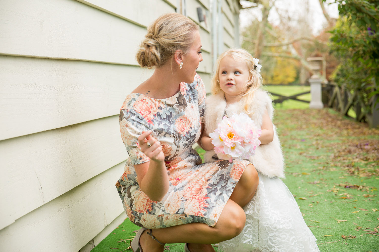 bridesmaid at gracehill venue