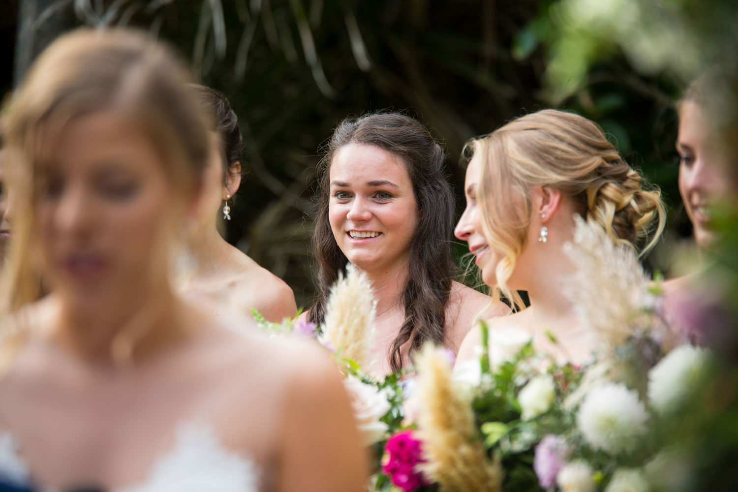 auckland wedding bridesmaid cry