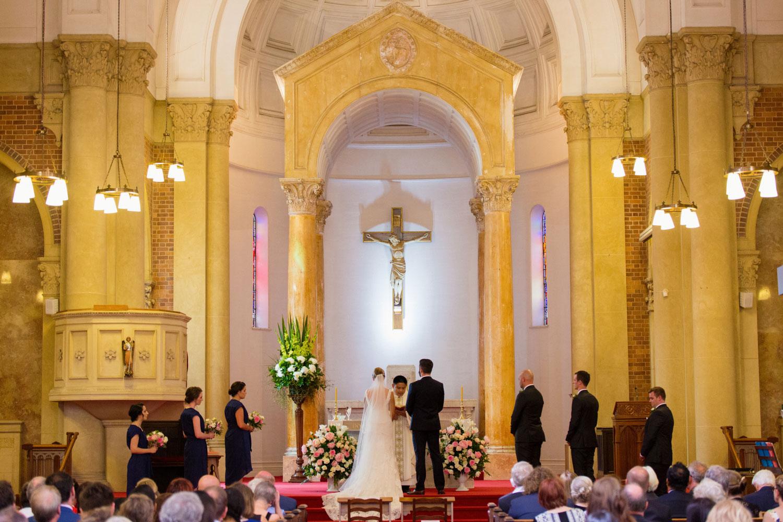st michaels remuera wedding ceremony