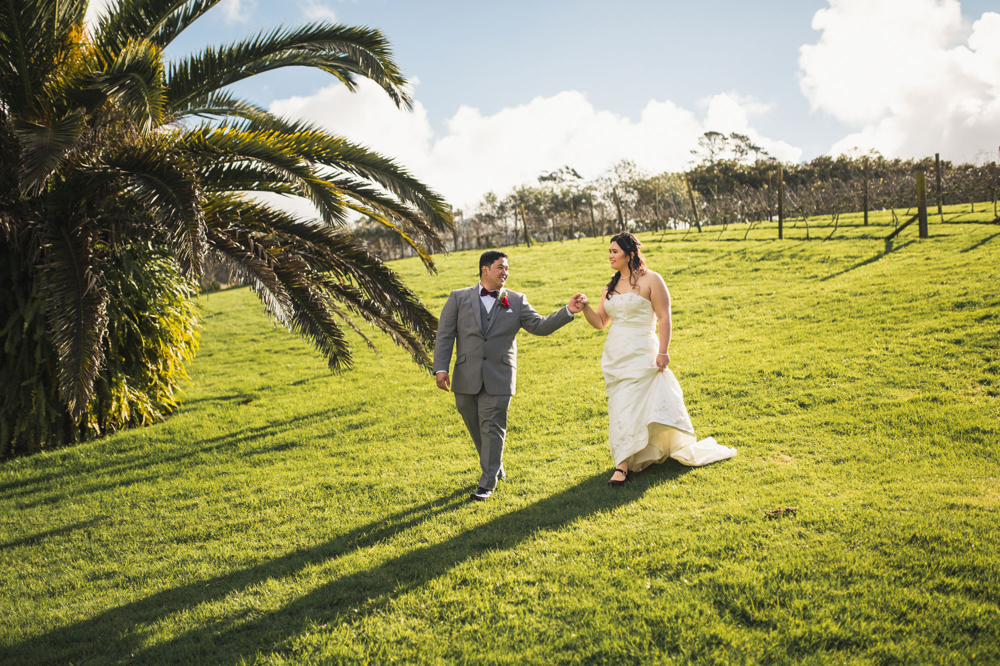 gracehill vineyard estate wedding photo