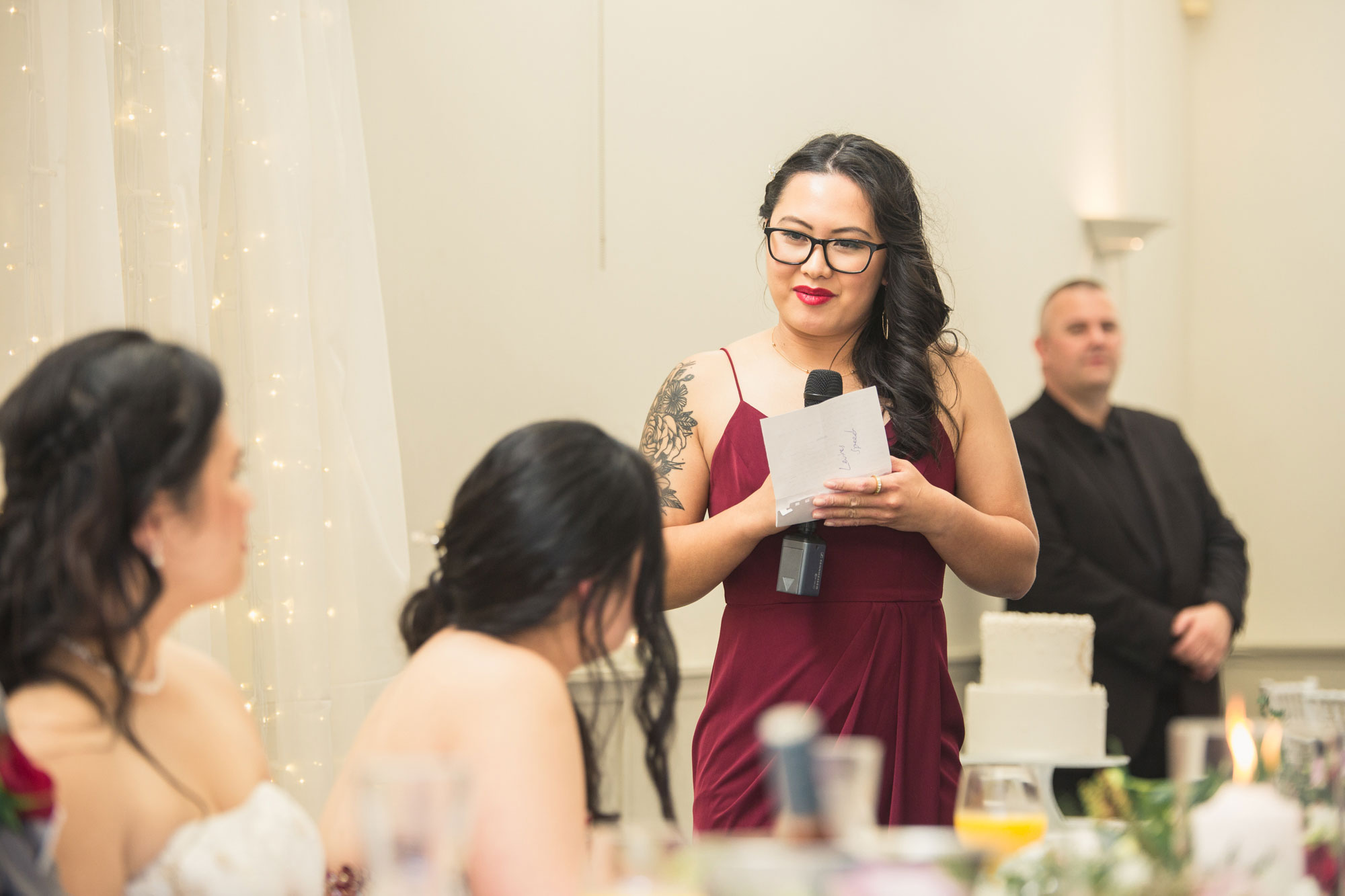 bridesmaid speech