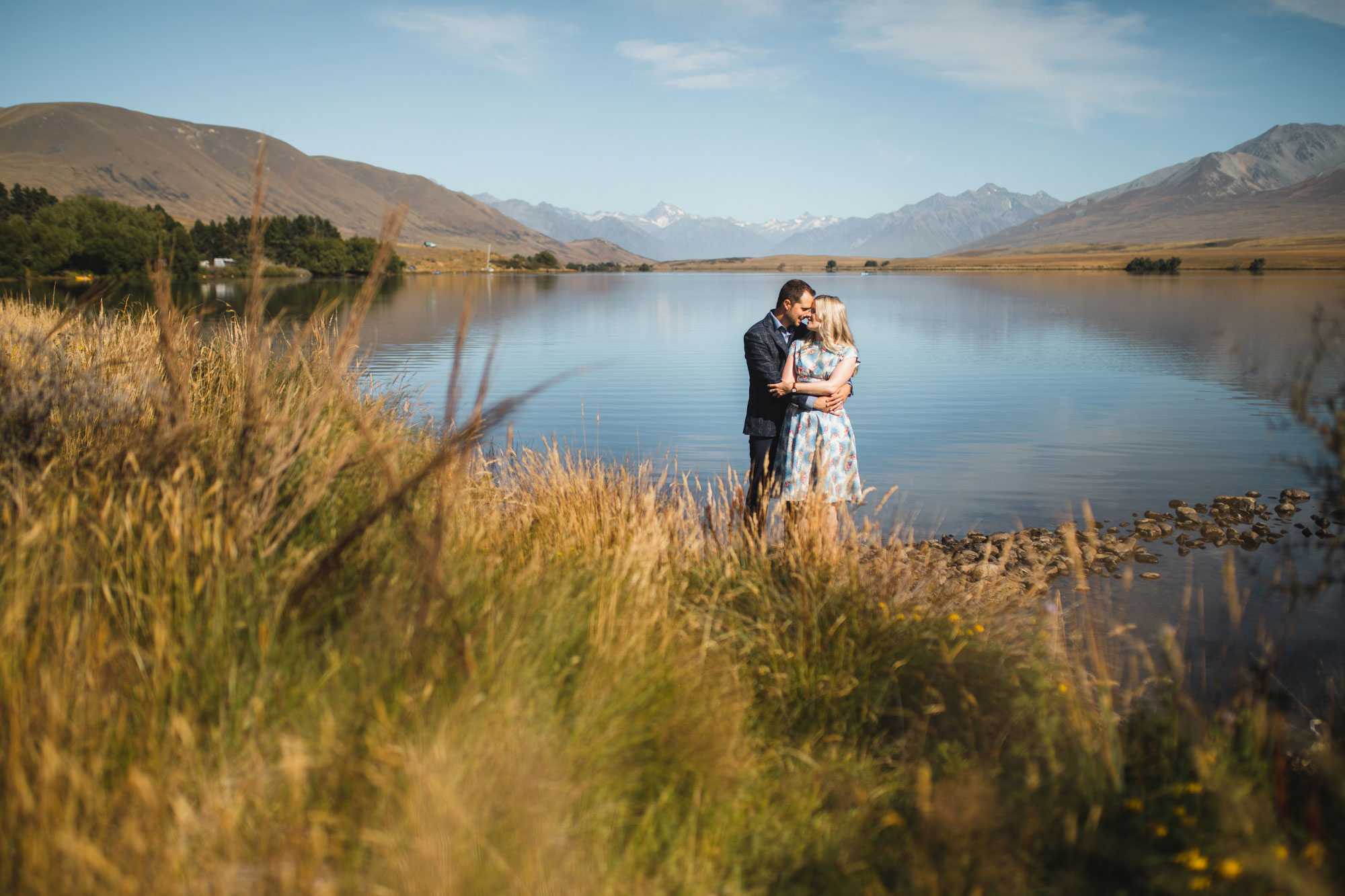 christchurch wedding lake clearwater wedding photo