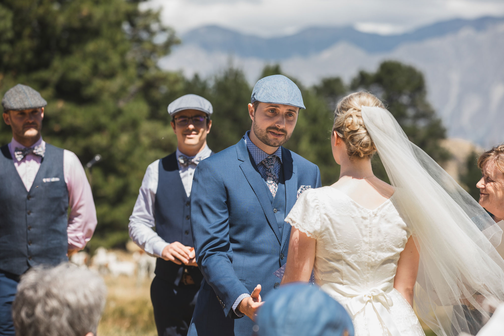 christchurch wedding groom vows