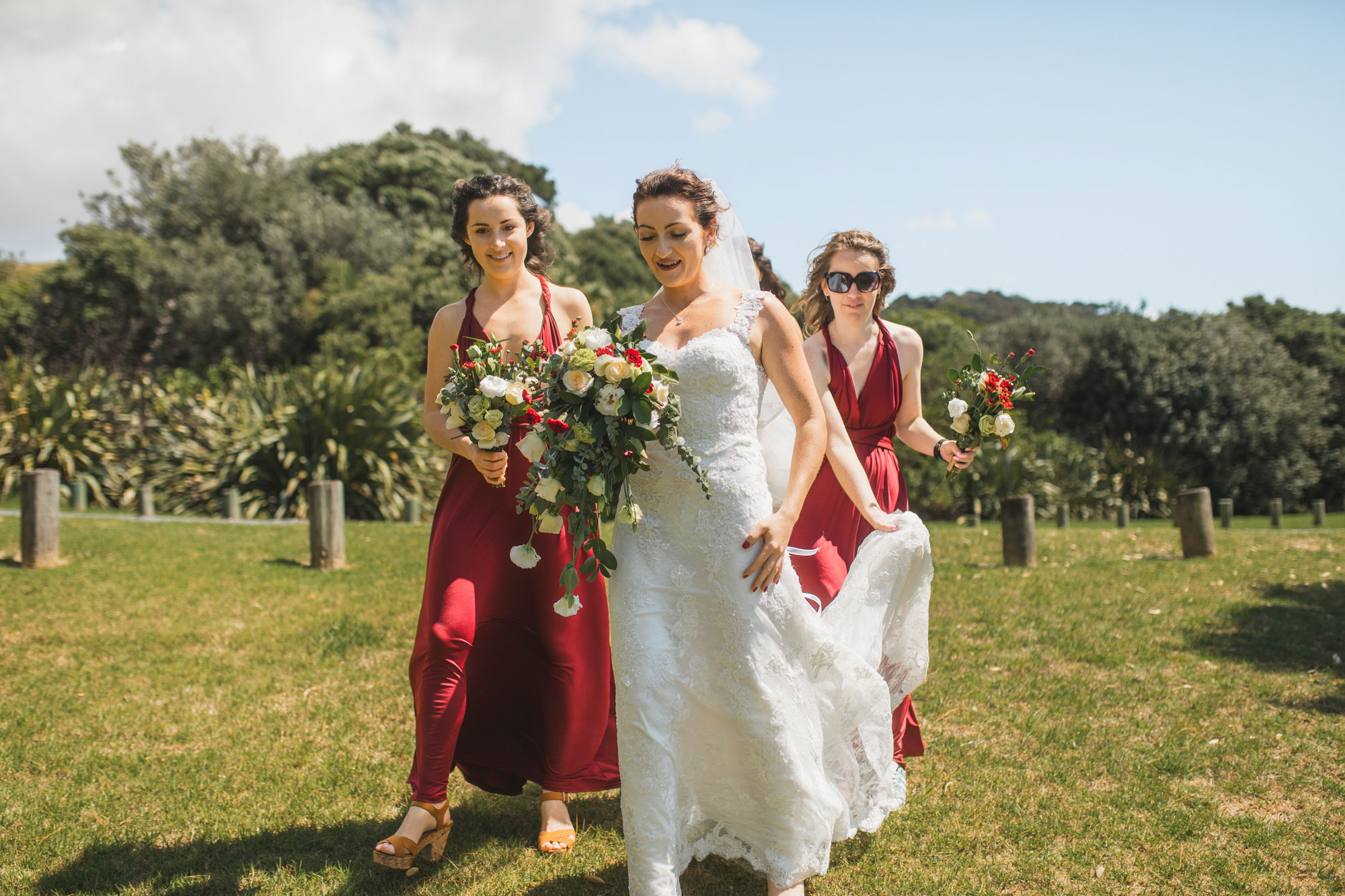 auckland wedding bride first look