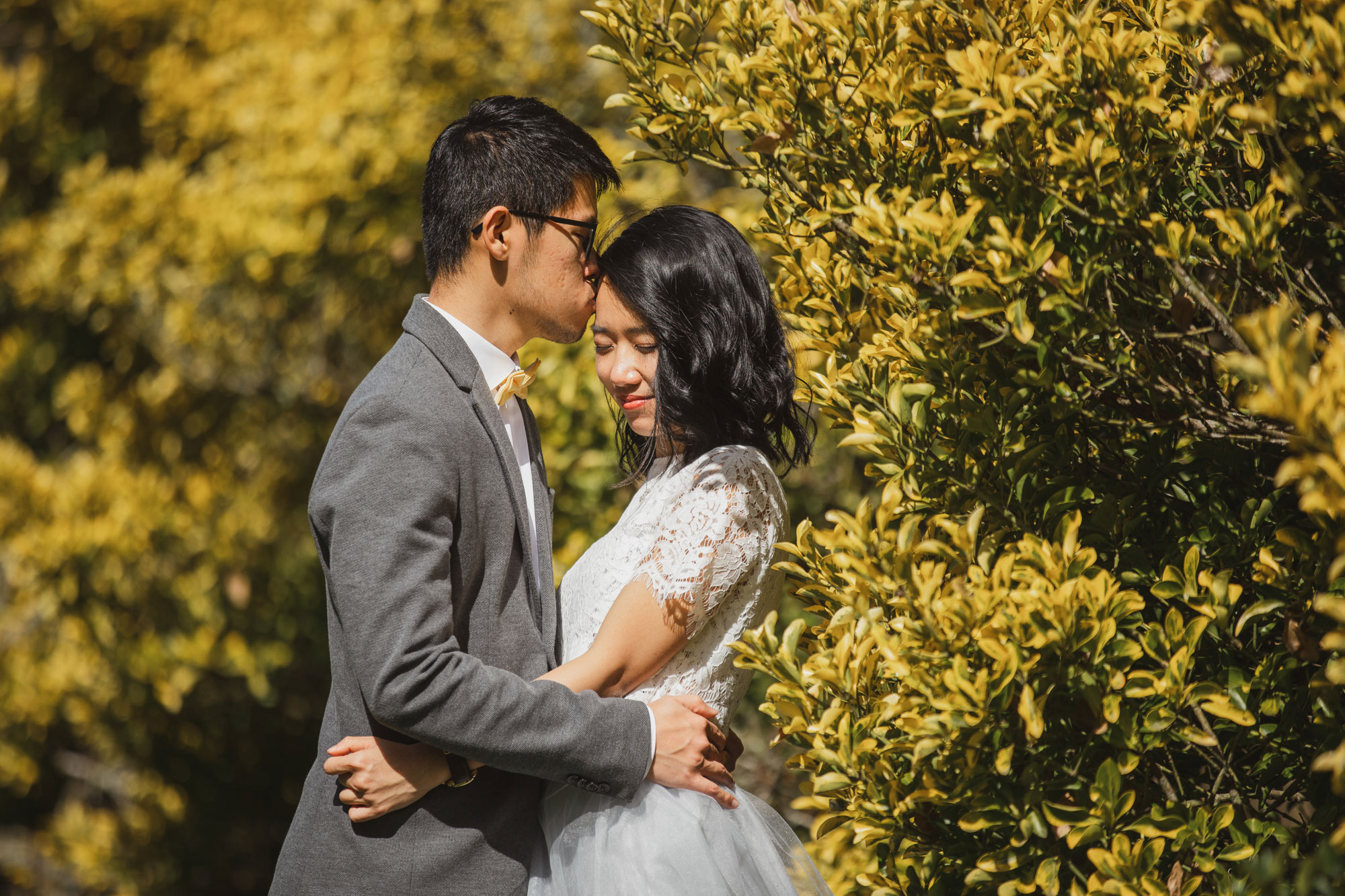 auckland spring wedding shoot