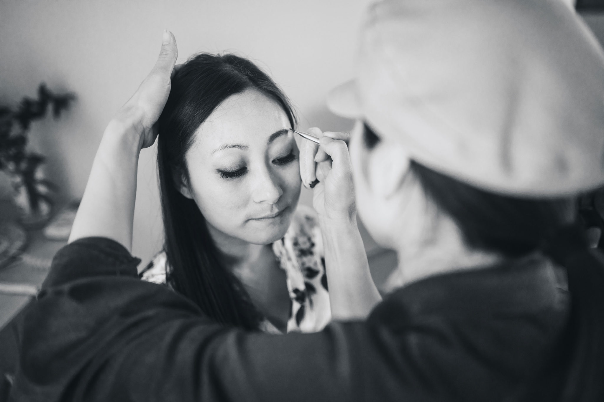 auckland bride getting ready