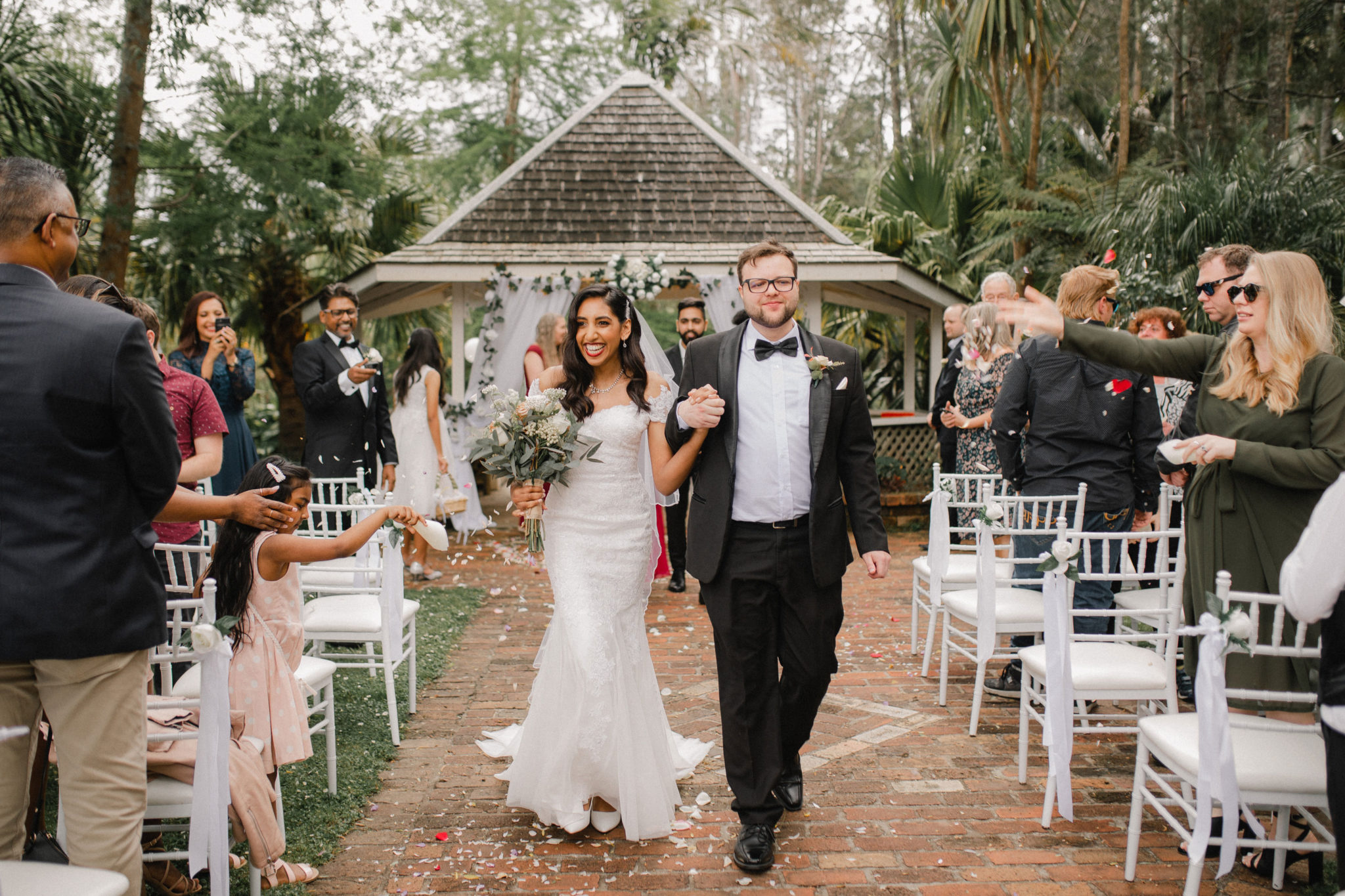 auckland settlers manor wedding recessional