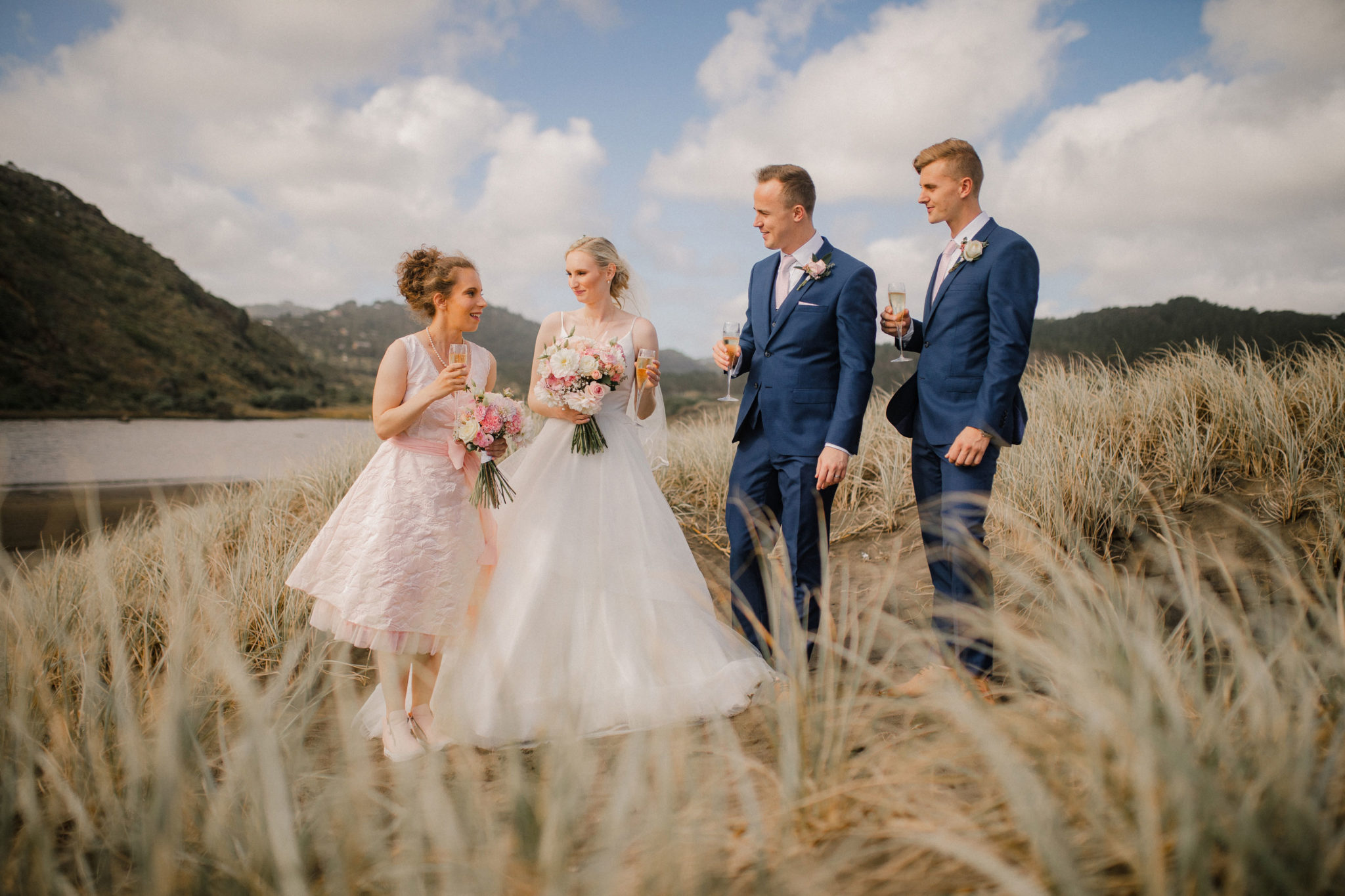 auckland bridal party photo shoot